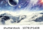 space planets and nature | Shutterstock . vector #1078191608