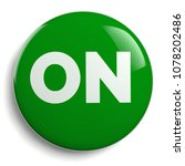 on button   green round symbol... | Shutterstock . vector #1078202486