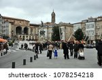 vitoria gasteiz  spain   april... | Shutterstock . vector #1078254218