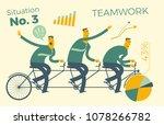 business infographics  business ... | Shutterstock .eps vector #1078266782