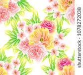 abstract elegance seamless... | Shutterstock . vector #1078272038