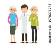 doctor and patient. young... | Shutterstock .eps vector #1078278275