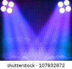 grant stage spotlight background | Shutterstock . vector #107832872