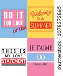 typography  posters  slogans... | Shutterstock .eps vector #1078372865
