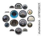 realistic car speedometers...