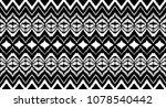 ikat seamless pattern. vector...   Shutterstock .eps vector #1078540442