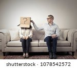 getting to know each other   Shutterstock . vector #1078542572