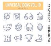 doodle vector universal generic ... | Shutterstock .eps vector #1078619312