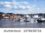 whitby  north yorkshire ... | Shutterstock . vector #1078658726