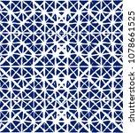 geo pattern  japanese kimono... | Shutterstock .eps vector #1078661525