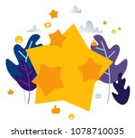 vector illustration on white... | Shutterstock .eps vector #1078710035