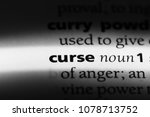 curse word in a dictionary.... | Shutterstock . vector #1078713752