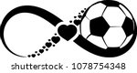 soccer ball wrapped in an... | Shutterstock .eps vector #1078754348