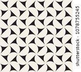 vector seamless pattern. modern ... | Shutterstock .eps vector #1078755245
