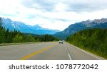 beautiful scenic view of blue... | Shutterstock . vector #1078772042