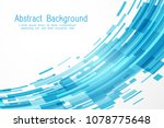 futuristic abstract background... | Shutterstock .eps vector #1078775648