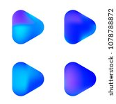 play glossy vector gradient...