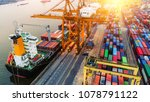 logistics and transportation of ... | Shutterstock . vector #1078791122