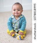 beautiful smiling diverse baby... | Shutterstock . vector #1078818995