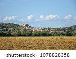 gr oux les bains  france  ... | Shutterstock . vector #1078828358