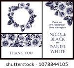 vintage delicate invitation...   Shutterstock .eps vector #1078844105