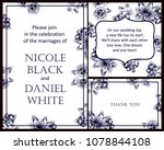 vintage delicate invitation... | Shutterstock .eps vector #1078844108