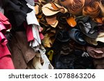 leather craftsmanship bundle... | Shutterstock . vector #1078863206