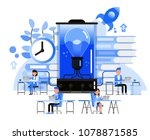 business people character... | Shutterstock .eps vector #1078871585