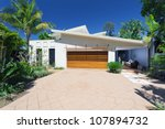 modern house front and entrance   Shutterstock . vector #107894732