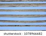 board against the sky ... | Shutterstock . vector #1078966682