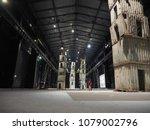 milan  italy   circa april 2018 ...   Shutterstock . vector #1079002796