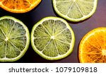 lime and tangerine  clementine  ... | Shutterstock . vector #1079109818