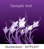 floral background with space...   Shutterstock .eps vector #10791247