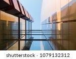 modern architectural details.... | Shutterstock . vector #1079132312