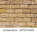 coquina  shell house limestone...   Shutterstock . vector #1079173625