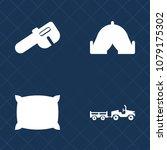 premium set of fill vector... | Shutterstock .eps vector #1079175302