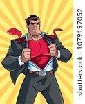 illustration of businessman...   Shutterstock .eps vector #1079197052