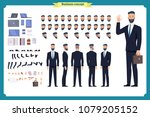 people character business set.... | Shutterstock .eps vector #1079205152