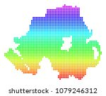 colored spectrum dotted... | Shutterstock .eps vector #1079246312