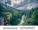 the white pass and yukon route... | Shutterstock . vector #1079269055