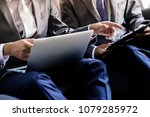 image of two young businessmen... | Shutterstock . vector #1079285972
