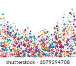premium confetti circle... | Shutterstock .eps vector #1079294708