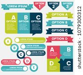 infographics design template... | Shutterstock .eps vector #1079300312