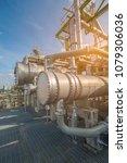 heat exchanger in process area... | Shutterstock . vector #1079306036