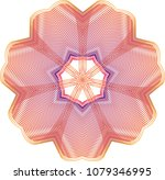 simple double layered guilloche ...   Shutterstock .eps vector #1079346995