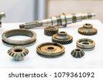 high precision hot forging... | Shutterstock . vector #1079361092