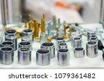 high precision hot forging... | Shutterstock . vector #1079361482