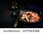 thai traditional food  thai... | Shutterstock . vector #1079365388