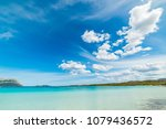 turquoise water in cala... | Shutterstock . vector #1079436572