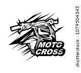 motocross design vector ...   Shutterstock .eps vector #1079504345